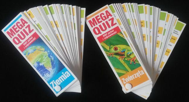 Mega Quiz 2 części Ziemia Zwierzęta dla dzieci