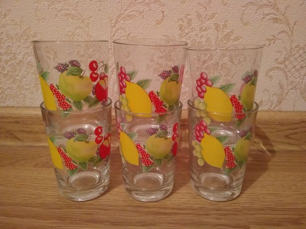 Продам набор из 6 стаканов