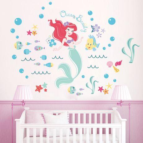 Наклейка в детскую Русалочка Ocean Beauty