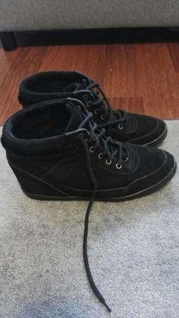 Sneakersy na koturnie heavy duty 40, 41