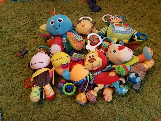 Zabawki sensoryczne Dumel, playgro,lamaze