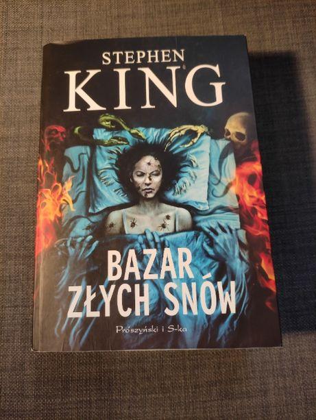 """""""Bazar złych snów"""" autor - Stephen King"""