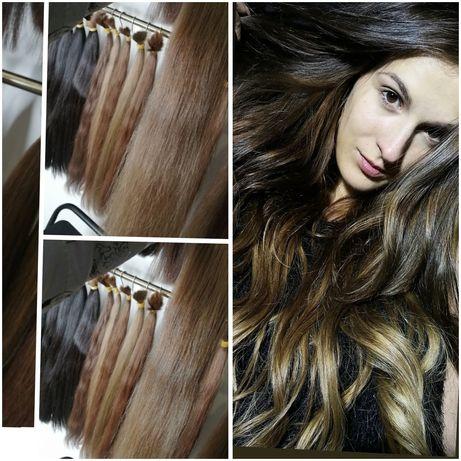 Наращивание волос капсульное