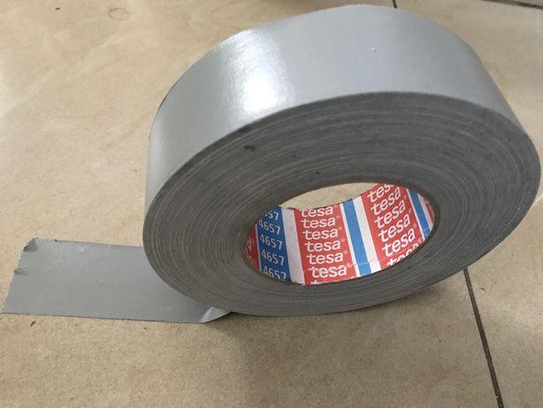 Taśma Tessa uniwersalna srebrna 48mm/50m