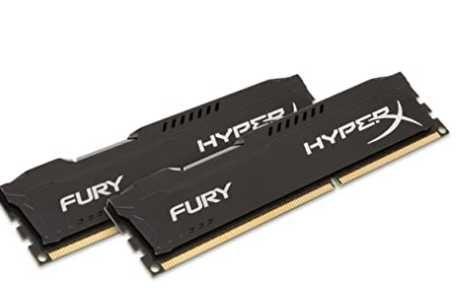 Память DDR3  HyperX Kingston FURY 16GB Kit (2x8GB) 1866MHz