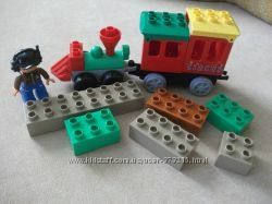Лего дупло паровоз