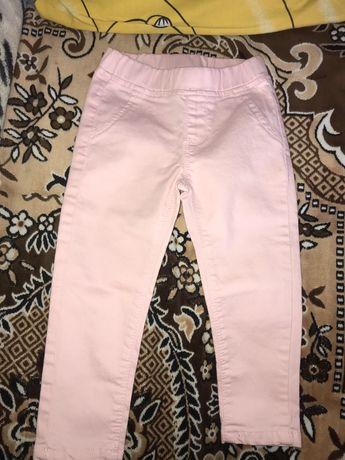Стрейчевые джинсы на 2-3года