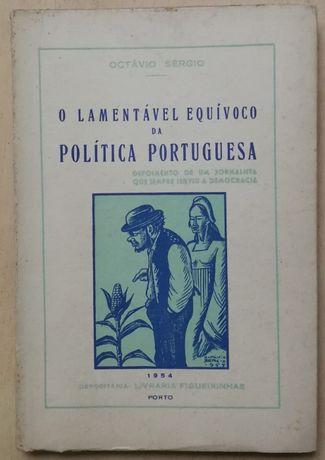 o lamentável equívoco da política portuguesa, octávio sérgio