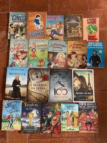 Varios livros- varios autores conjunto