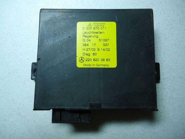 A2208203685 Блок управления угла наклона фар Мерседес W220