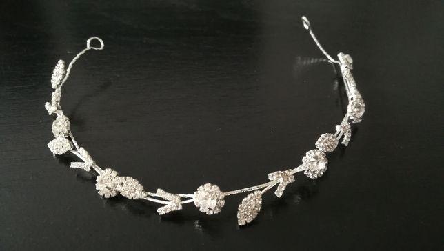 Opaska biżuteria ślubna