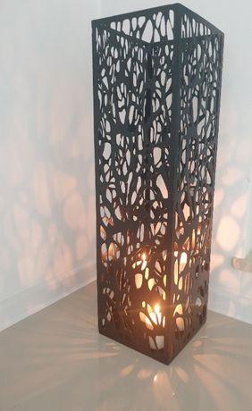 Lampion na świece