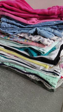 86 zestaw 26 szt paka ubrań dziewczynka jak nowe spodnie sukienka