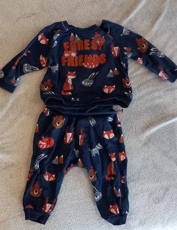 Dres niemowlecy 74 kappAhl komplet bluza i spodnie