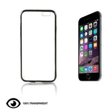 IPHONE 6 -> Capa de Telemóvel Transparente Preto