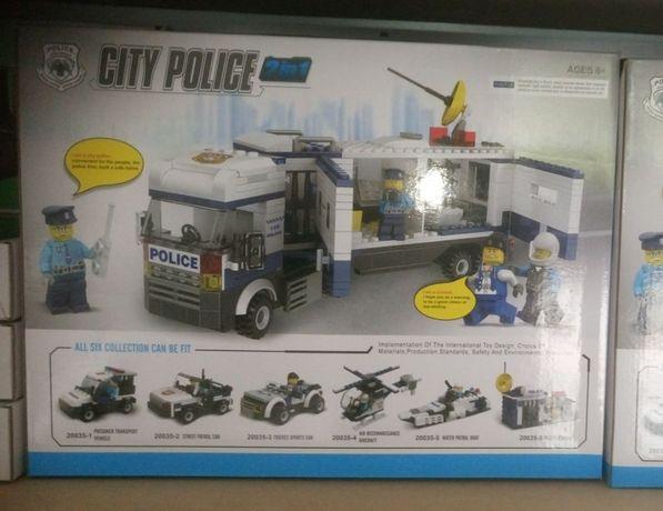 Zestaw klocków komp. z Lego Policja 6 w 1