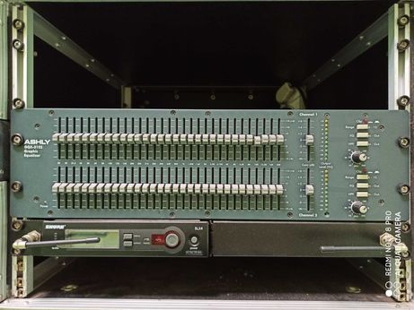 Ashly GQX 3102 equalizer / korektor graficzny