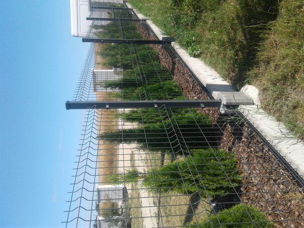 Siatka panelowa, ogrodzenie panelowe