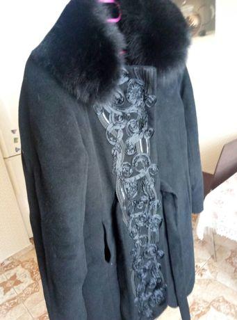 Зима шикарное пальто