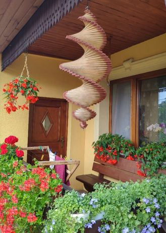 Ozdoby ogrodowe,świder,wiatrak,altanka