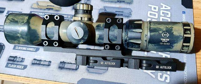 Airsoft SCOPE 1,5-5X40 BE
