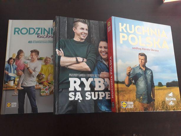 zestaw 3 książek z Lidla
