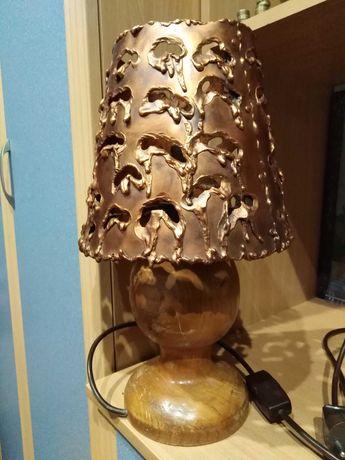 Светильник  времён СССР медь 3.5 кг.+ статуэтки