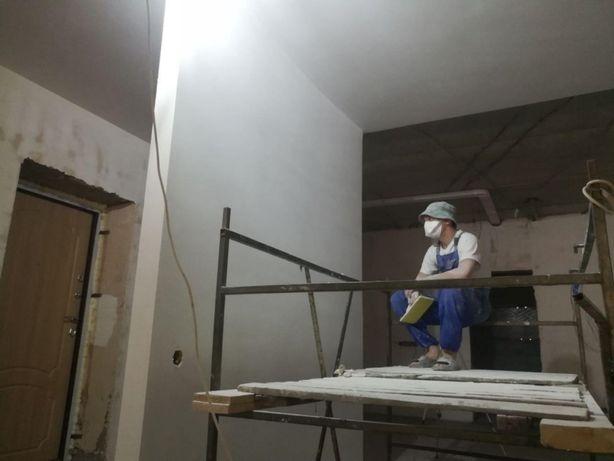 Ремонт и отделка квартир, потолки, гипсокартон