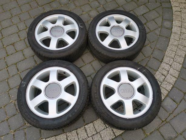Alufelgi Audi +Opony Letnie 195/50 R15 rant