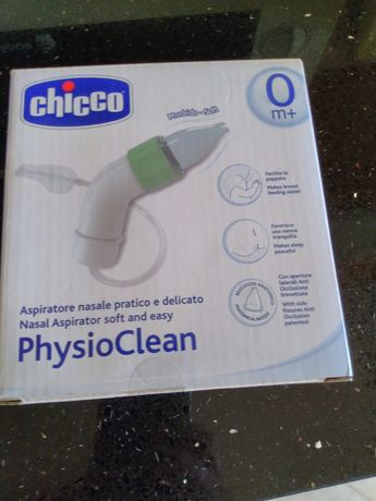 Vendo aspirador nasal Chicco physioclean