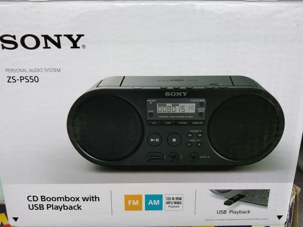 Sony CD boombox ZS CS50