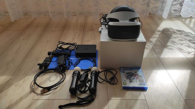 Okulary VR CUH-ZVR2 PS4 dodatki gratisy !!! jak nowe!!!