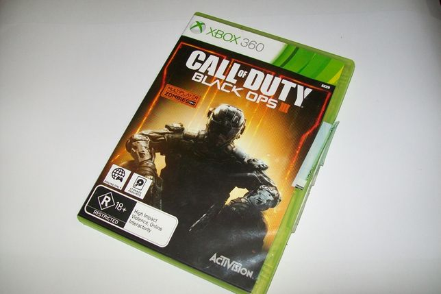 """Call of Duty Black OPS III"" XBOX360 PAL"