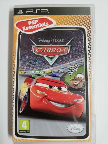 Jogo Carros para a PSP