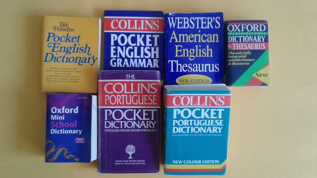 Pequenos dicionários de INGLÊS