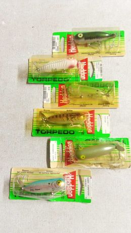 Amostras de pesca ao ACHIGÃ marca HEEDON modelo Baby Torpedo X0361