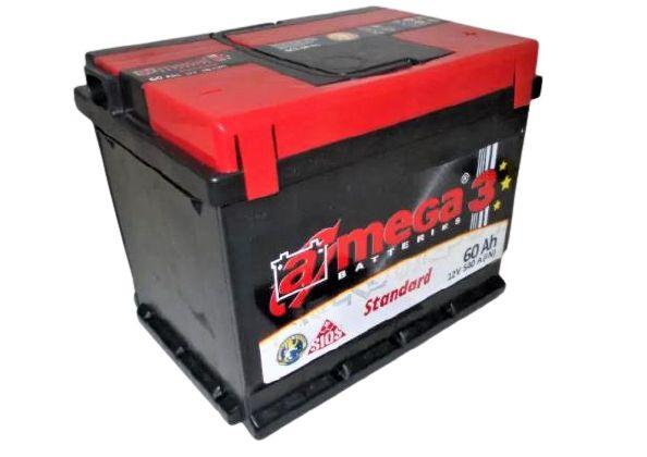 Akumulator AMEGA 3 Standard 60Ah 540A