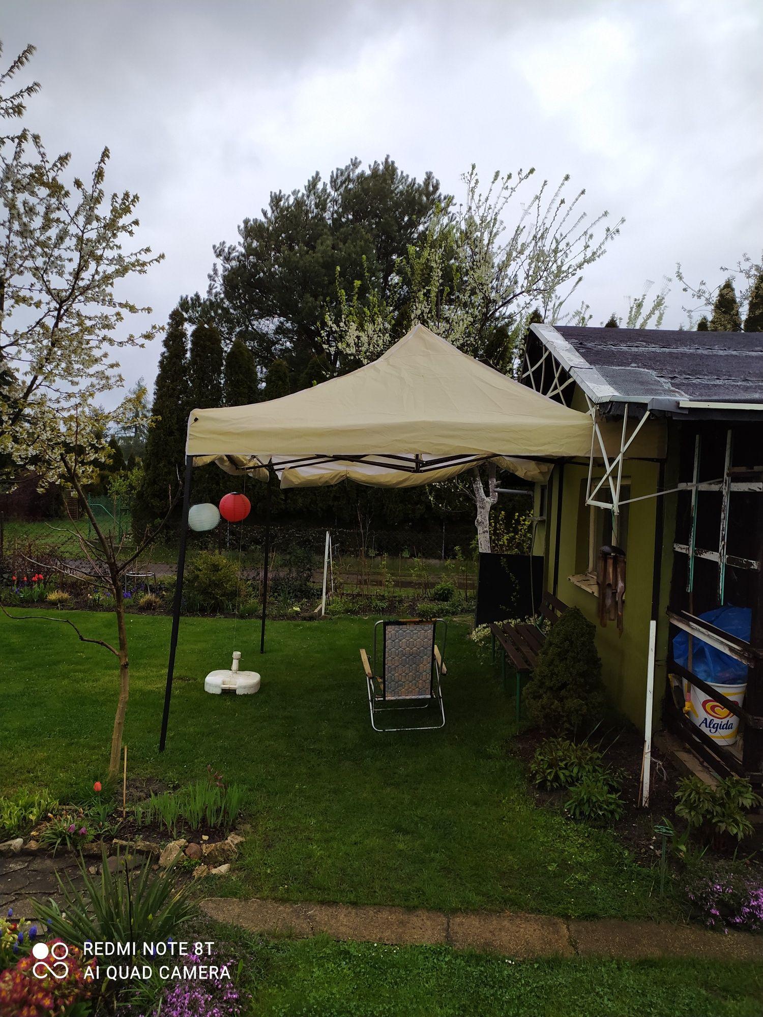 Pawilon ogrodowy, namiot.