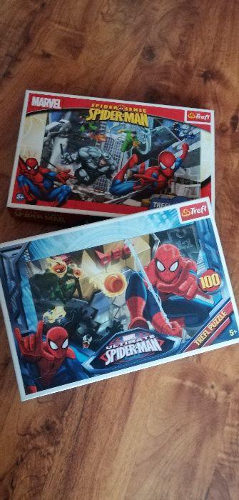 Puzzle Spider man 100 el. TREFL komplet lub na sztuki plus gratisy Szyce - image 1