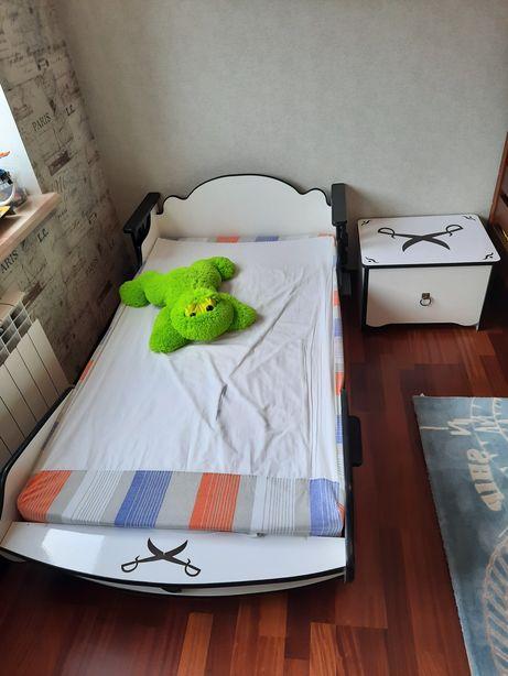 Детская мебель, кровать, комод, шкаф, тумба, стол