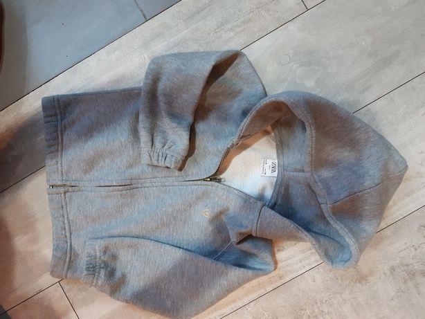 Bluza rozpinana kaptur Zara 116