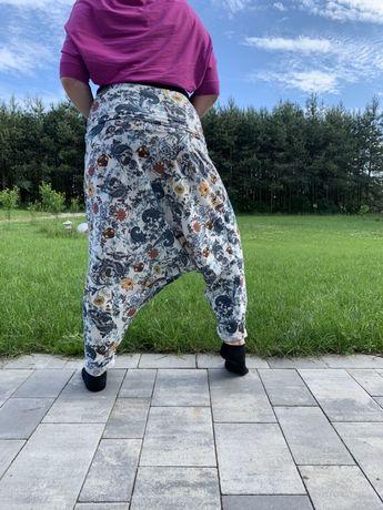 spodnie pumpy allandynki nowe joga qart