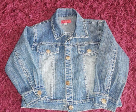 Kurtka jeansowa r. 110/116