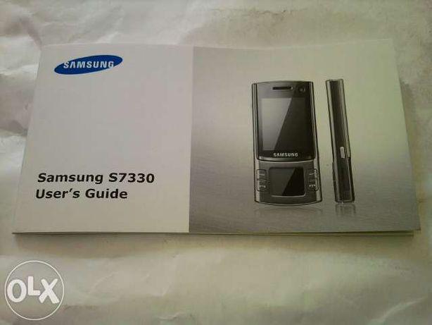 Manual Samsung S7330