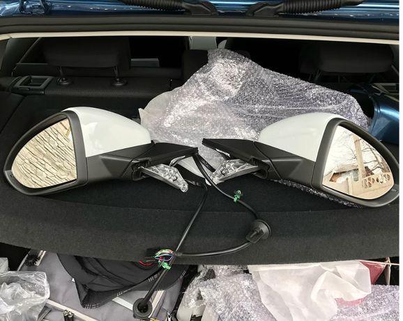Комплект полных боковых зеркал + блоки дверей для VW Golf 7.