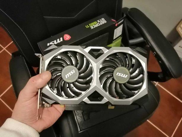 Vendo Nvidia  MSI GTX 1660 Ti 6gb 1un.