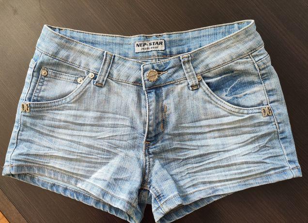 Spodenki szorty jeansowe 38/M