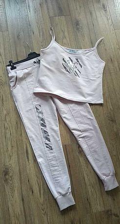 komplet dres spodnie +top Paparazzi M/L nowy