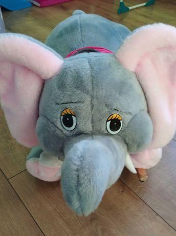 Słoń bujany bujak pluszowy