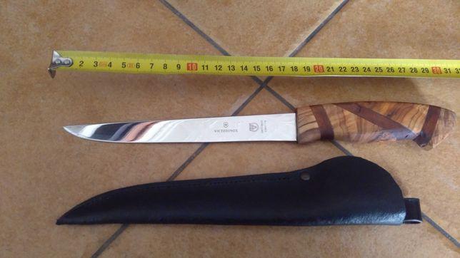 Nowy nóż wędkarski lub kuchenny ręczna robota głownia Victorinox